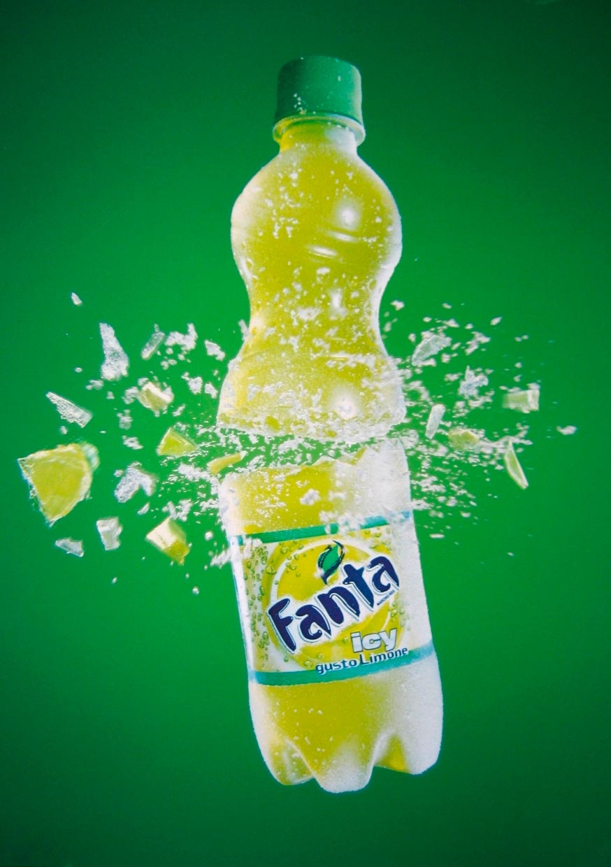 Fanta Francesco Magni food mockup Fuorizona food agency