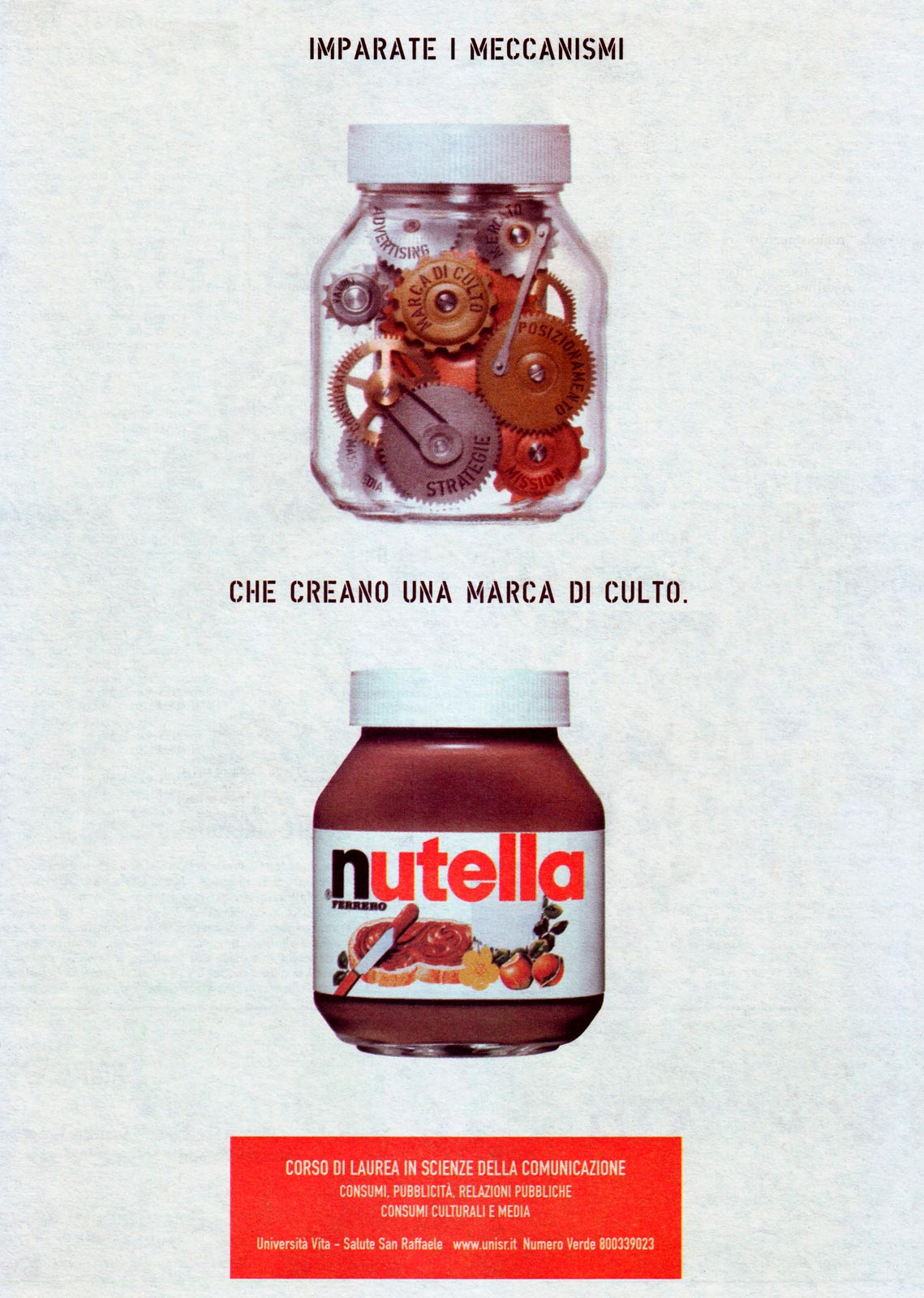 Nutella Francesco Magni food mockup Fuorizona food agency