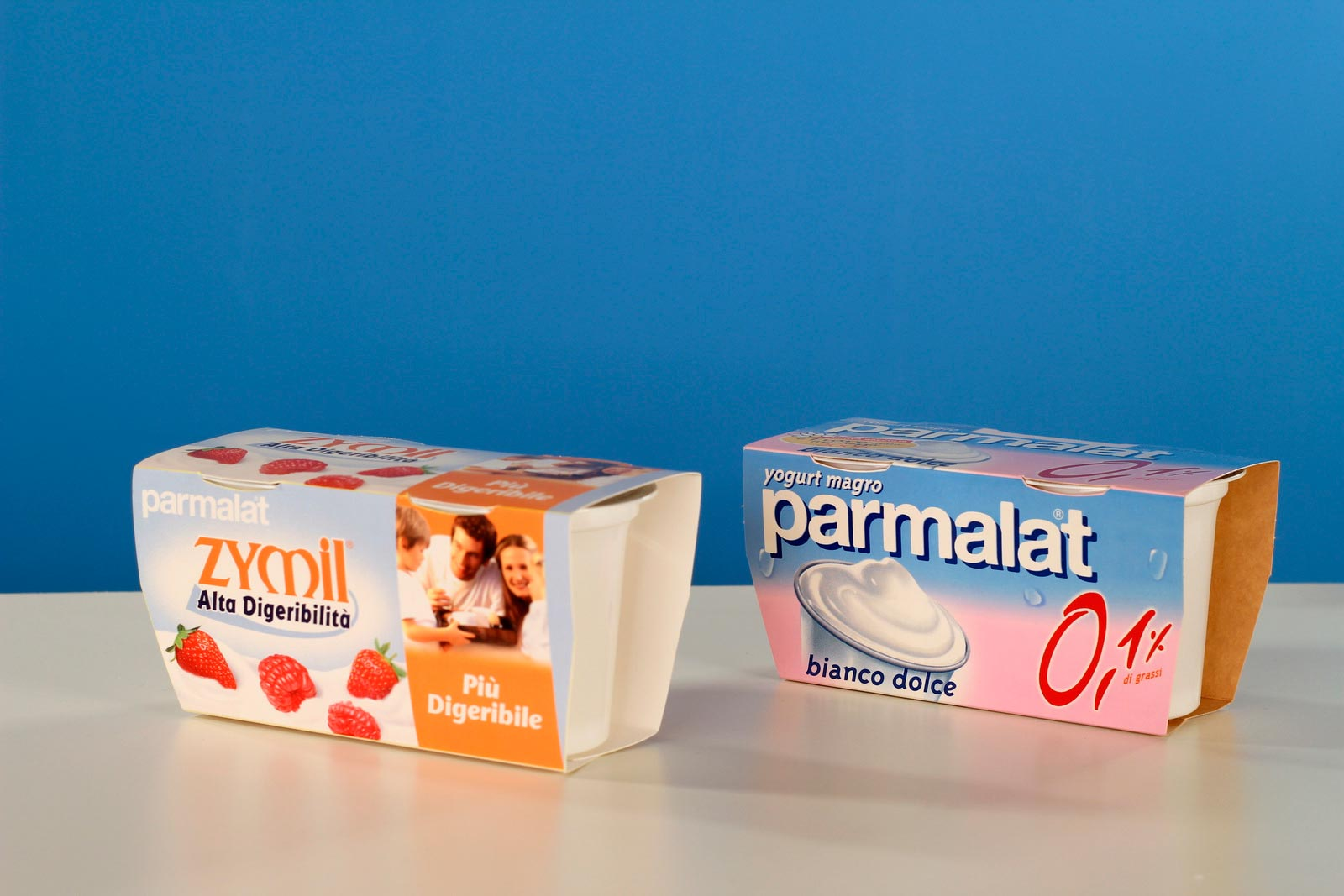 yogurt parmalat Francesco Magni food mockup Fuorizona food agency