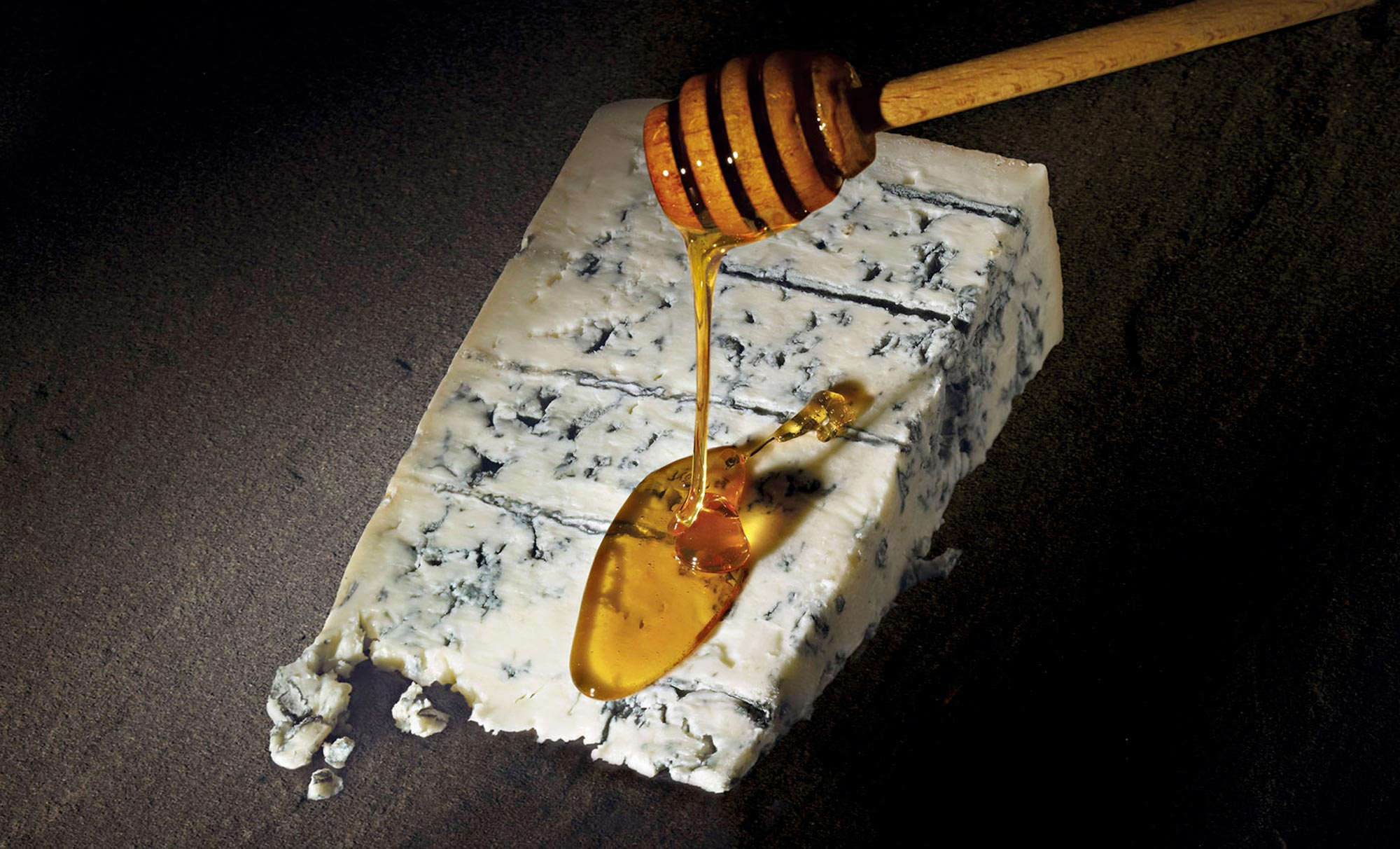 gorgonzola and honey by Studio Ros post produzione e 3D | Fuorizona food agency